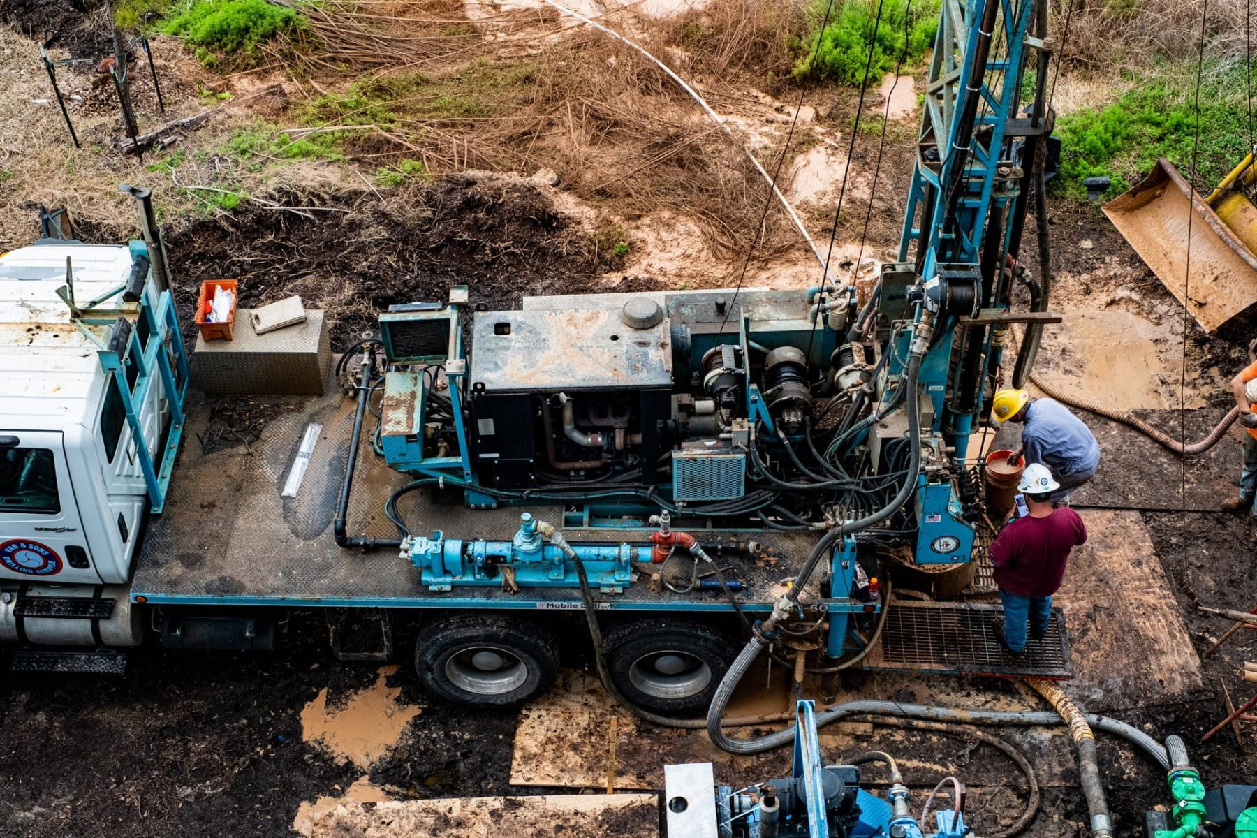 Rice University geoscientist Jonathan Ajo-Franklin and The group has drilled three wells in an out-of-the-way spot on campus.